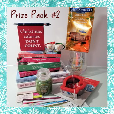 Jennifer Faye's Annual Newsletter #Christmas #Giveaway – Prize Pack #2
