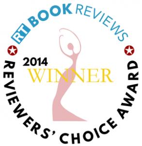 RT Book Reviews Winner