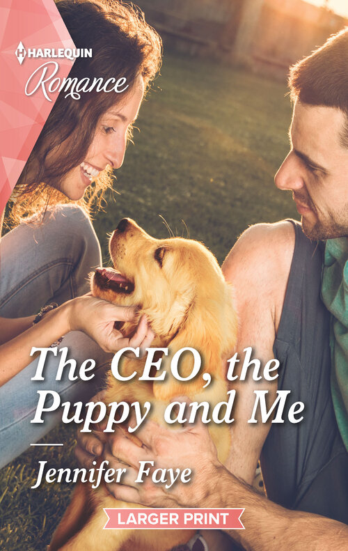 The CEO, the puppy and me.