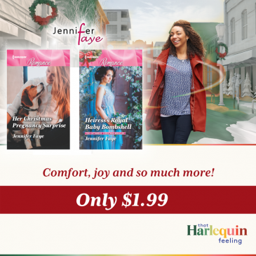 Flash #Sale… 50% off HER CHRISTMAS PREGNANCY SURPRISE and HEIRESS'S ROYAL BABY BOMBSHELL by Jennifer Faye… #books #Christmas #romance #readers #booklovers