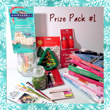 Jennifer Faye's Annual Newsletter #Christmas #Giveaway – Prize Pack #1