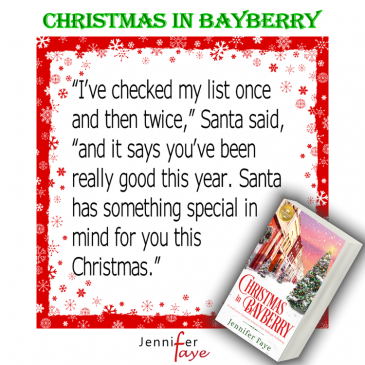 Release Day ~ CHRISTMAS IN BAYBERRY by Jennifer Faye… #readers #romance #books #NewRelease #Hallmark #ChristmasInJuly #Hallmarkies #amreading #booklovers