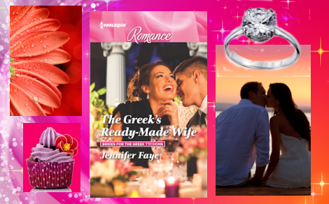 #Excerpt ~ THE GREEK'S READY-MADE WIFE by Jennifer Faye… #books #ContemporaryRomance #FakeEngagement