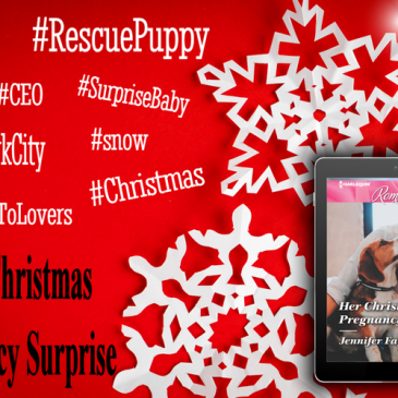 "The Buzz… ""This book deserves the five stars I'm giving it…"" HER CHRISTMAS PREGNANCY SURPRISE by Jennifer Faye… #books #romance #bakery #puppy #readers"