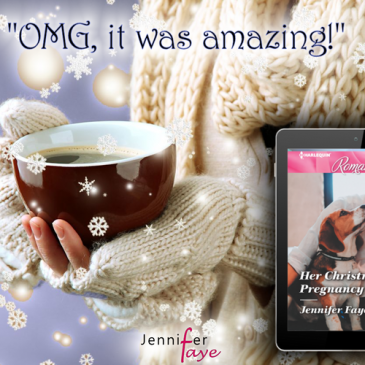 "The Buzz… ""fun story full of delicious treats"" HER CHRISTMAS PREGNANCY SURPRISE by Jennifer Faye… #books #romance #bakery #puppy #readers"