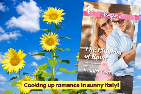 #Excerpt ~ THE PLAYBOY OF ROME by Jennifer Faye… #books #ContemporaryRomance #bookblogger