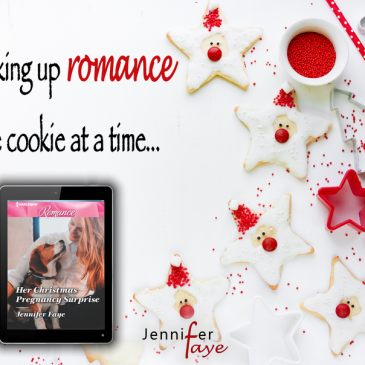 "The Buzz… ""I am giving Her Christmas Pregnancy Surprise five plus stars."" HER CHRISTMAS PREGNANCY SURPRISE by Jennifer Faye… #books #BakeryRomance #RescueDog #HEA #amreading"