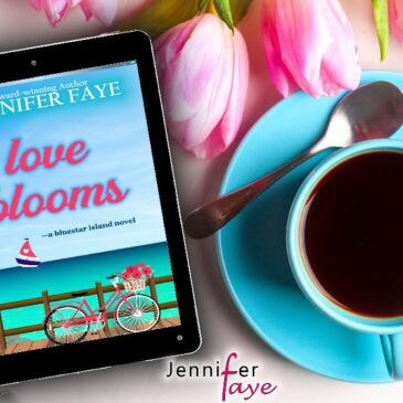 Releases tomorrow… LOVE BLOOMS: A Clean Small Town Romance (Bluestar Island, book 1) by Jennifer Faye… #Excerpt #CleanReads #IslandLife #SmallTown #books #readers #NewRelease