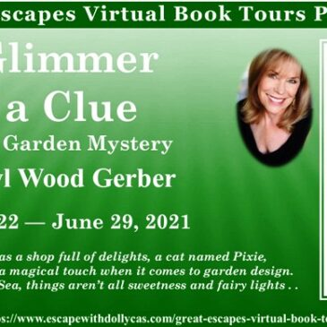 #Giveaway ~ A Glimmer of a Clue (A Fairy Garden Mystery) by Daryl Wood Gerber… #books #CozyMystery #readers #amreading