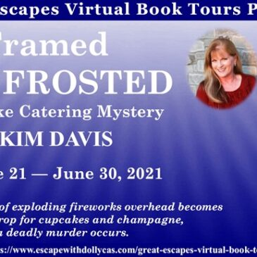 #Giveaway ~ Framed and Frosted (A Cupcake Catering Mystery) by Kim Davis… #books #CozyMystery #readers #amreading