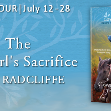 #Giveaway + Excerpt ~ The Cowgirl's Sacrifice by Tina Radcliffe… #books #LoveInspired #readers #amreading