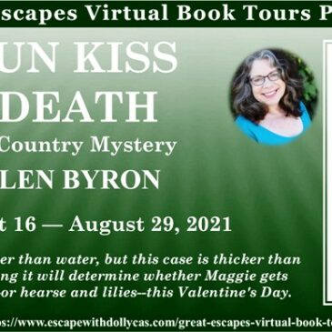 #Giveaway ~ Cajun Kiss of Death (A Cajun Country Mystery) by Ellen Byron… #books #CozyMystery #readers