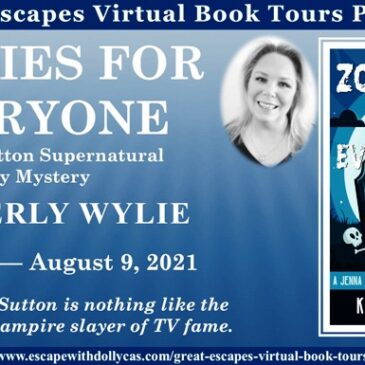 #Giveaway + Excerpt ~ Zombies for Everyone (A Jenna Sutton Supernatural Cozy Mystery) by Kimberly Wylie… #books #CozyMystery #readers