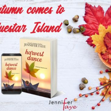 #Giveaway + #Excerpt 7 ~ Releases Tuesday!!!… HARVEST DANCE (Bluestar Island, book 2) by Jennifer Faye… #Autumn #SmallTown #fiction #readers