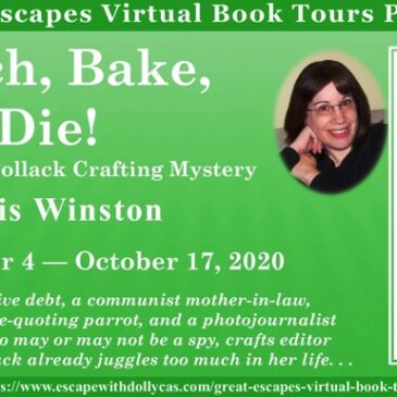 Guest Post ~ Stitch, Bake, Die! (An Anastasia Pollack Crafting Mystery) by Lois Winston… #Excerpt #books #CozyMystery #readers